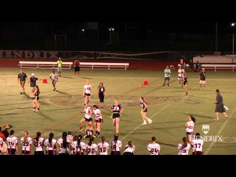 Hendrix College First Powder Puff Football Game