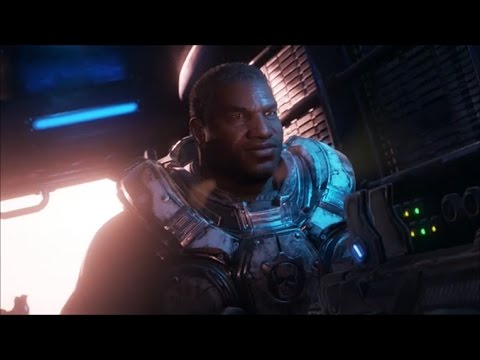 Gears of War 4 Cole, Baird and Sam join the fight Cutscene
