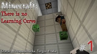 Minecraft Escape: There is No Learning Curve z Torgusem i Frodo! [1/5]