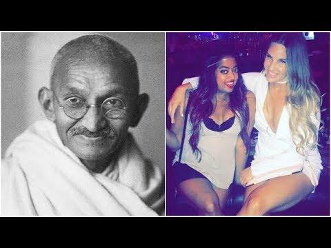 Meet Mahatma Gandhi's great granddaughter who is internet's new sensation