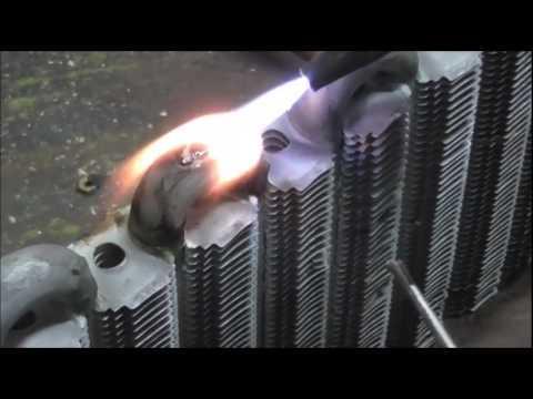 Чем паять теплообменник котла Кожухотрубный конденсатор Alfa Laval McDEW 200 T Воткинск