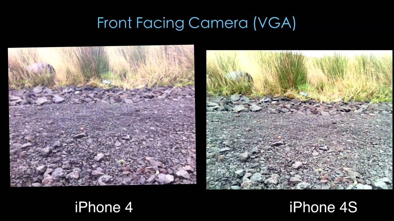 iPhone 4s vs iPhone 4: Video Comparison - YouTube