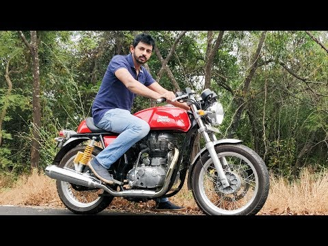 Royal Enfield Continental GT Review - Cafe No Racer | Faisal Khan