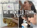 WE WENT TO TOWN   Summer Vlog - Day 12 - 1/8/17   Eloise Musgrove