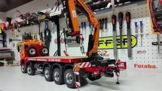 CSMI : MAN 10 x 10 RC HIAB PALFINGER EFFER Crane test