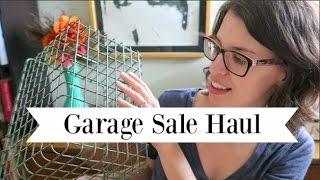 Garage Sale Haul | Vintage Home Decor Finds and More