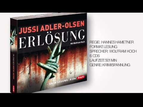 Erlösung - Carl Mørck YouTube Hörbuch Trailer auf Deutsch