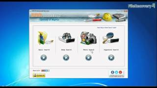Recovery lost data from USB drive by using DDR Professional Recovery Software