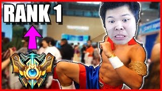 SUPER INTENSE LEE SIN GAME - Preparing for RANK 1 - Ep. 4 | League of Legends