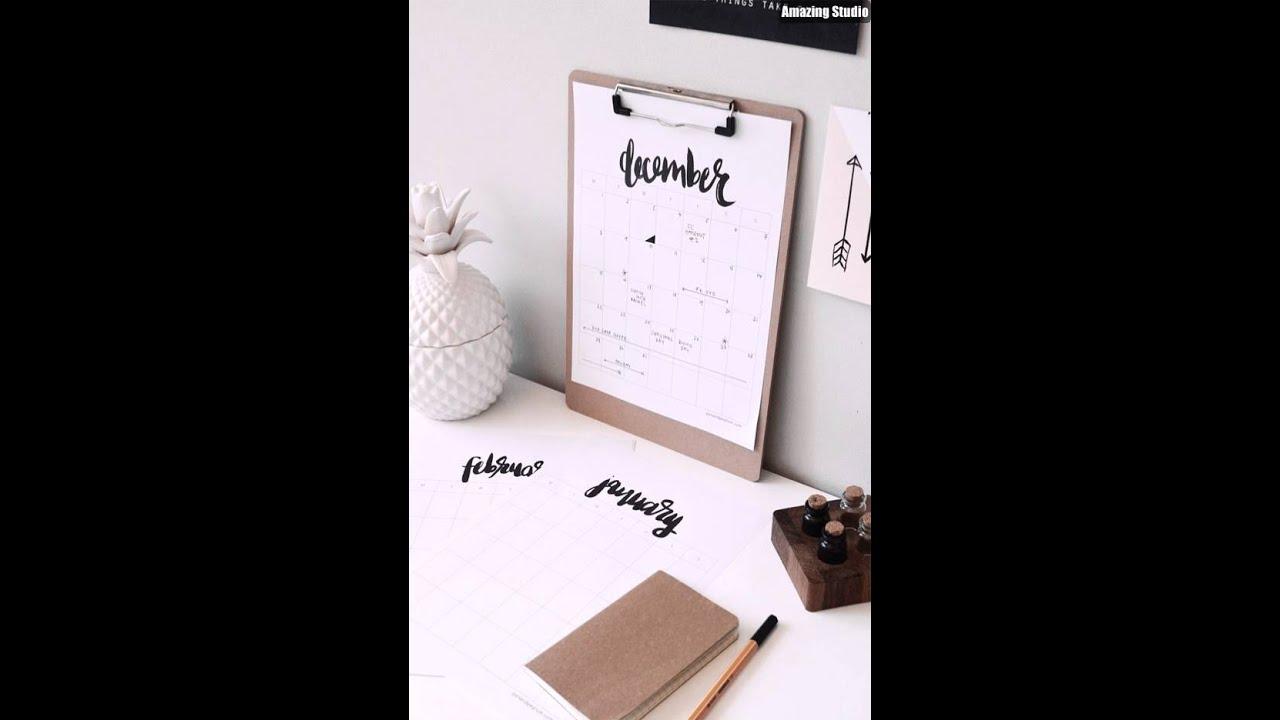 Diy Calendar Laurdiy : Diy printable calendar youtube