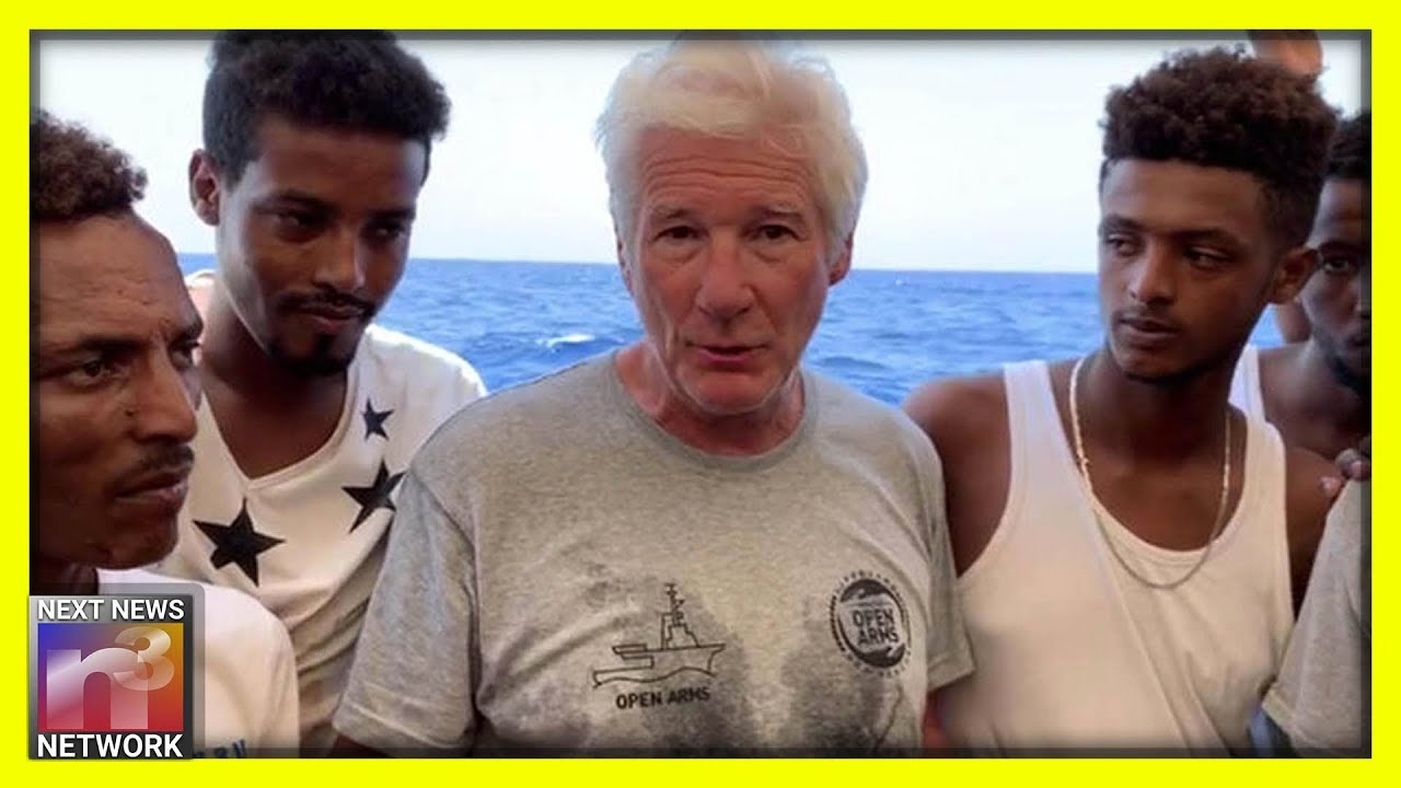 Italy's Deputy Prime Minister Tells Actor Richard Gere to Take Illegal Migrants to Hollywood