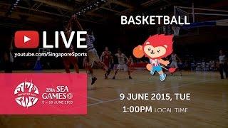 Basketball Womens Malaysia vs Indonesia (Day 4) | 28th SEA Games Singapore 2015