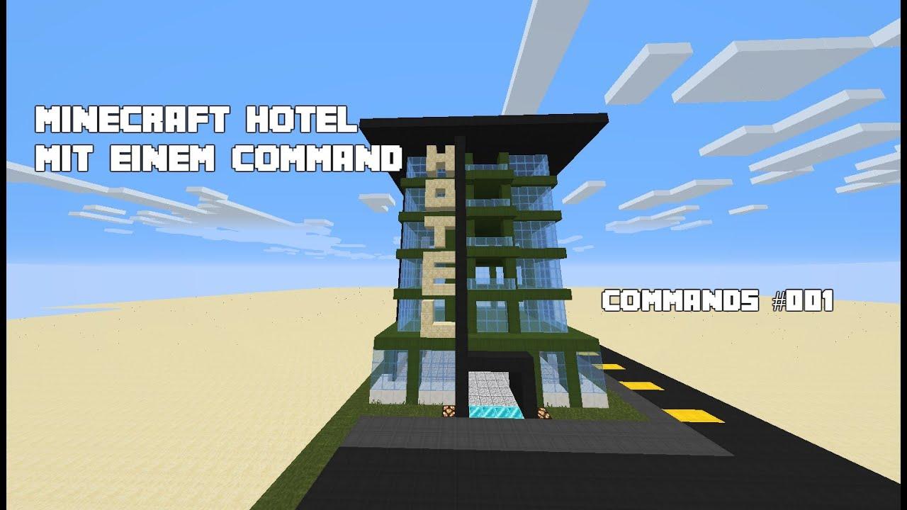^ MINF HOL MI NU INM OMMND! Minecraft ommands #001 ...