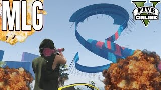 MLG SPIRAL WALLRIDE UP AND DOWN TWISTER (+Download) | GTA 5 - Custom Map Rennen | LPmitKev