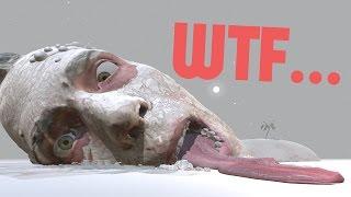Weird Games - Walking Into A Giant Human - Self Portrait (Interior)