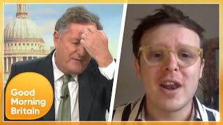 Piers Clashes With Trans Supporter Over JK Rowling's Controversial New Book | Good Morning Britain