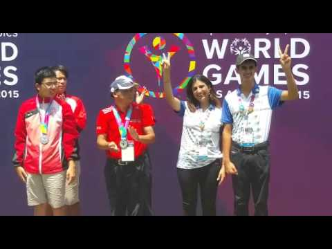 Indian team ranveer saini monica jajoo win at world special indian team ranveer saini monica jajoo win at world special olympics golf los angeles usa altavistaventures Choice Image