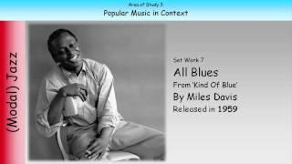7. All Blues - Miles Davis (GCSE Music Edexcel)