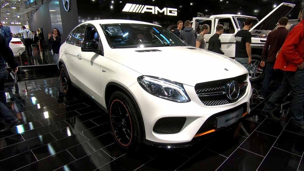 Mercedes Benz Gle 43 Amg Coupe New Model Diamond White Colour