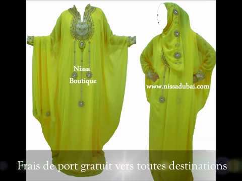 robe de dubai nissa boutique