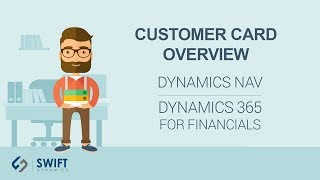 Customer Card Overview in Microsoft Dynamics NAV