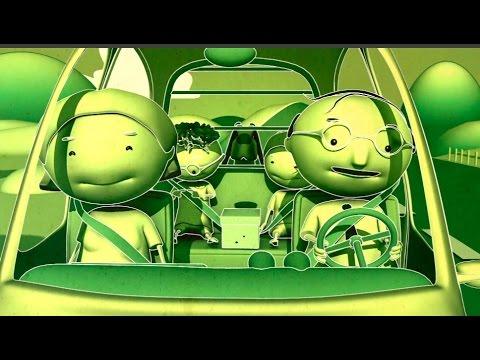 Con los ni os en el coche consejos seguridad vial youtube for Espejos para ver a los bebes en el coche