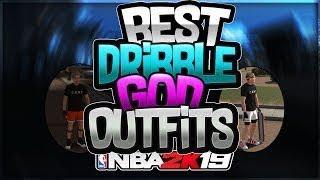 BEST NBA 2K19 DRIBBLE GOD OUTFITS
