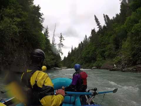 White Water Rafting - Class V, Six Mile Creek, Alaska, part III