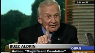 C-SPAN: Buzz Aldrin Reveals Existence of Monolith on Mars Moon
