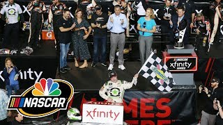 Tyler Reddick's Xfinity Series win gives him confidence for future | NASCAR | NBC Sports