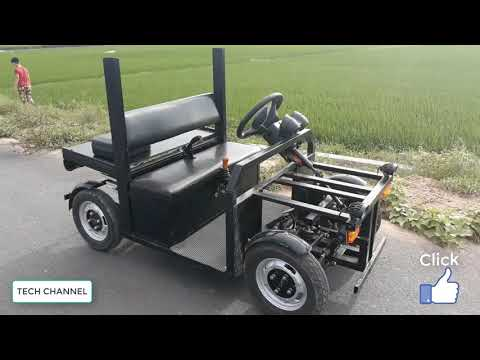 Homemade electric cars with Special driving set