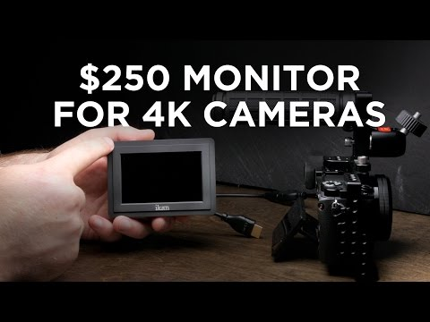$250 Monitor for 4K Cameras: iKan VL35 Review:watfile.com Cookie, Network