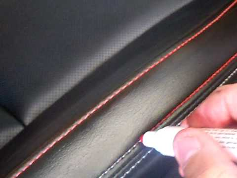 Diy color your car seat stitching youtube for Diy car interior decor