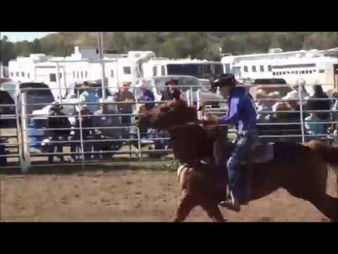 Velva High School Rodeo Barrel Racing