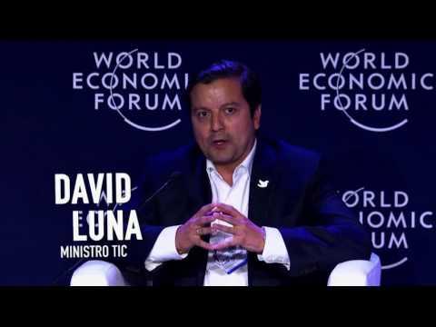 Ministro David Luna, Foro Económico Mundial para Latinoamérica #ViveDigitalTV