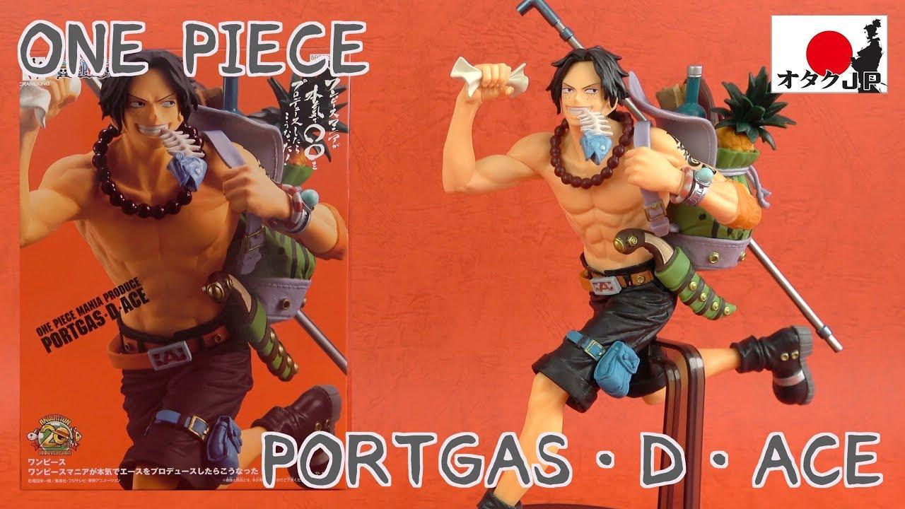 One Piece Mania Produce Portgas D Ace Figure Banpresto
