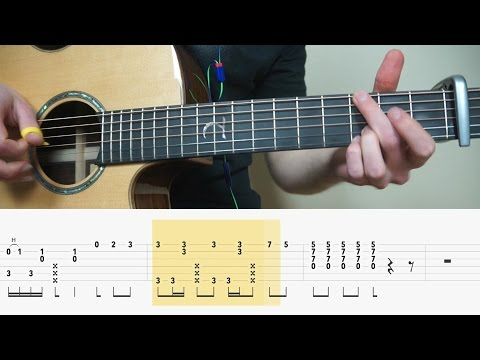 Alan Walker - Alone - Fingerstyle Guitar TABS Tutorial (Lesson)| Mattias Krantz