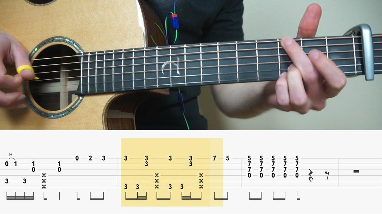 Alan Walker Alone Fingerstyle Guitar Tabs Tutorial Lesson Mattias Fingerstyle Guitar Guitar Tabs Guitar
