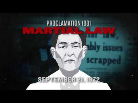 Proclamation 1081: Martial Law