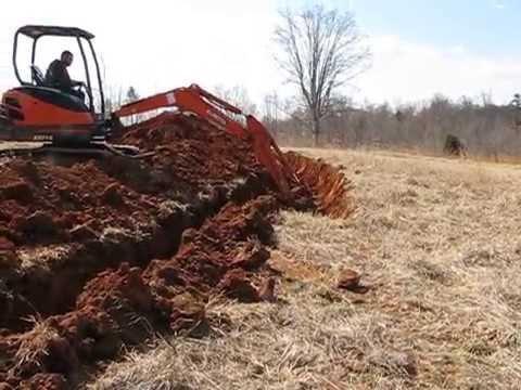 Hugelkultur part 1 - Digging the trench