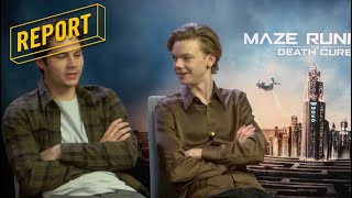 Maze Runner: The Death Cure - Trivia met Dylan O