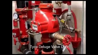 Tyco Deluge Valve DV5 Electric Operated