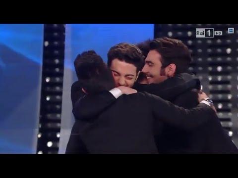 Sanremo 2015 - Il Volo vince con