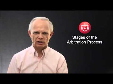 Stages of the Arbitration Process
