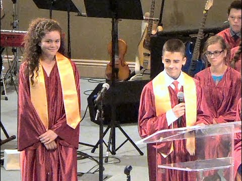 2015 8th GRADE COMMENCEMENT CEREMONY - Valley Christian Middle School