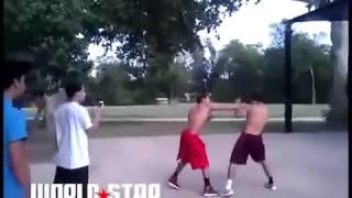 Boxer Vs Street Fighter