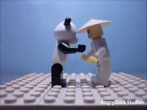 Lego-Panda Kung Fu Test