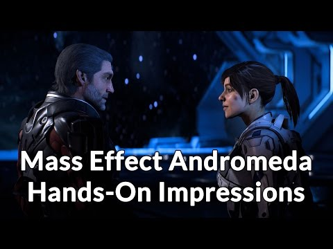 Mass Effect Andromeda Gameplay - Hands-on Impressions & Thoughts