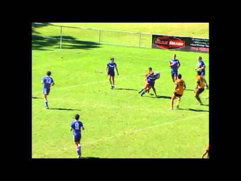 North Queensland Vs Metropolitan West (HIGHLIGHTS) 2012