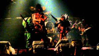 "Gwar ""Crack in the Egg"" live in Detroit"